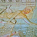 Young God-figure On Wall In Angkor Wat In Angkor Wat Archeological Park Near Siem Reap-cambodia by Ruth Hager