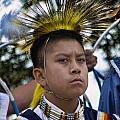 Young Hopi by Brenda Kean