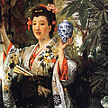 Young Japanese Lady by James Jacques Joseph Tissot