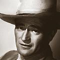 Young John Wayne Painting Traditional by Tony Rubino