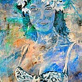 young lady in Papeete by Pol Ledent