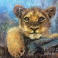 Young Lion by Jieming Wang