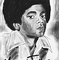 Young Michael Jackson by Kenal Louis