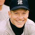 Mickey Mantle Smile by Retro Images Archive