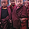Young Monks II by Steve Harrington