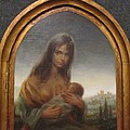 Young Mother Of Urbino by Donna Wilson