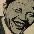 Young Nelson Mandela by Dalene Smit