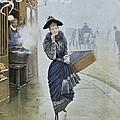 Young Parisian Hatmaker by Jean Beraud