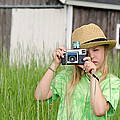 Young Photographer by Maria Dryfhout