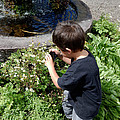 Young Photographer by Pamela Walton