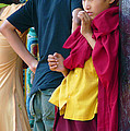 Young Tibetan Monk by Dagmar Batyahav