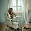 Young Woman In A Chair by Jill Battaglia