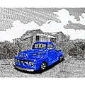 Your 1952 F 100 Pick Up In N M  by Jack Pumphrey