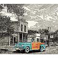 1946 Ford Sports Man Convertible  In Hillsboro N M  by Jack Pumphrey