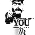 Your Country Takes You For A Thug Mug by MERLIN Vernon