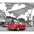 Your Ferrari In Tularosa N M  by Jack Pumphrey