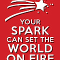 Your Spark Red by Splendid Notion Series