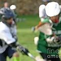 Youth Lacrosse by Jannice Walker