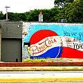You've Got A Life To Live Pepsi Cola Wall Mural by Kathy Barney