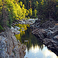 Yuba River Twilight by Donna Blackhall