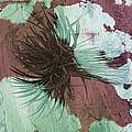 Yucca Abstract Sage And Mauve by Alan Socolik