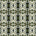 Yucca White Pattern by Nicki Bennett