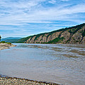 Yukon River As It Heads Northeast To The Arctic Circle-yt by Ruth Hager