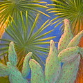 Yuma Conservation Garden by Lynn Morgan -                            L L Morgan Art
