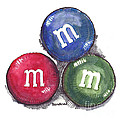 Yummy M And Ms by Terry Banderas