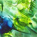 Yupo Blue Ice by Phyllis Brady
