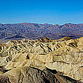 Zabriskie Point Panoramic by Jerry Fornarotto