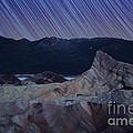 Zabriskie Point Star Trails by Jane Rix