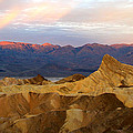 Zabriskie Point Sunrise Death Valley by Ed  Riche