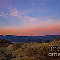 Zabriskie Point Sunrise by Joan Wallner