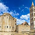 Zadar Cathedral Famous Landmark Of Croatia by Brch Photography