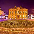 Zagreb Street Architecture Night Scene by Brch Photography