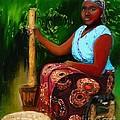 Zambia Woman by Vannetta Ferguson