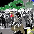 Zapata And Villa  Convencionista Army Mexico City December 6 1914-2013 by David Lee Guss