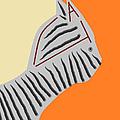 Zebra Cat by Anita Dale Livaditis