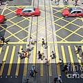 Zebra Crossing - Hong Kong by Matteo Colombo