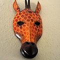 Zebra Head Mask by Jay Milo
