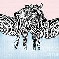 Zebra Love 21 by Karen Larter