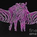 Zebra Love 7 by Karen Larter