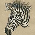 Zebra Profile by Konni Jensen