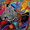 Zebra by Rebeca Rambal