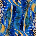 Zebras Abstracted by Alice Gipson