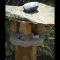 Zen Rocks In Balance by Tamara Kulish