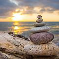 Zen Stones by Aged Pixel