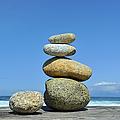 Zen Stones I by Marianne Campolongo