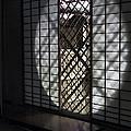 Zen Temple Window - Kyoto by Daniel Hagerman